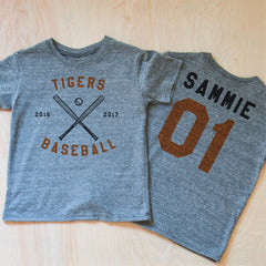 Varsity Personalized T-shirt at Hi Little One