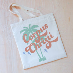 Vintage Summer Personalized Tote