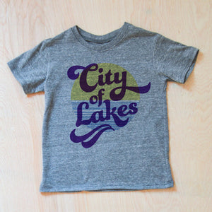 City of Lakes T-shirt at Hi Little One