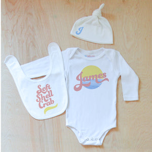 Vintage Summer Personalized 3 Piece Set at Hi Little One