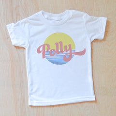 Vintage Summer Personalized T-shirt at Hi Little One