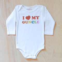 I Love My Guncle Onesie at Hi Little One