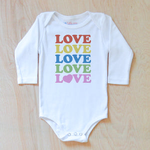 All the Love Onesie at Hi Little One
