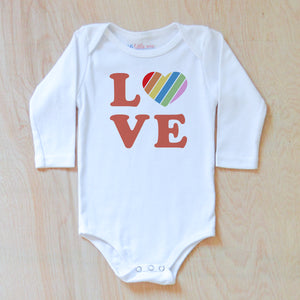 Love Rules Onesie at Hi Little One