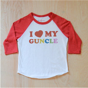 I Love My Guncle Raglan at Hi Little One