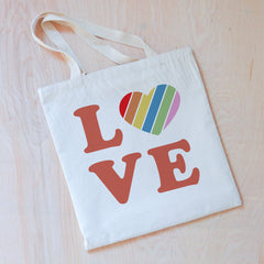 Love Rules Tote at Hi Little One