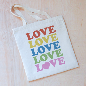 All the Love Tote at Hi Little One