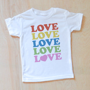 All the Love T-shirt at Hi Little One