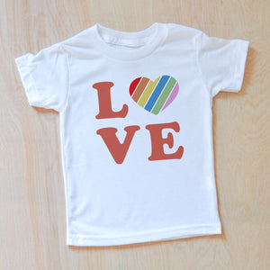 Love Rules T-shirt at Hi Little One