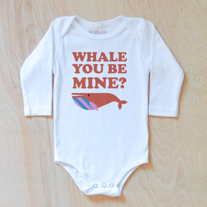 Whale You Be Mine Onesie at Hi Little One