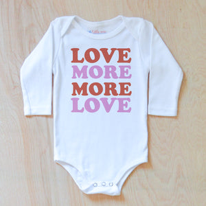 Move More, More Love Onesie at Hi Little One