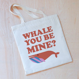 Whale You Be Mine Tote at Hi Little One