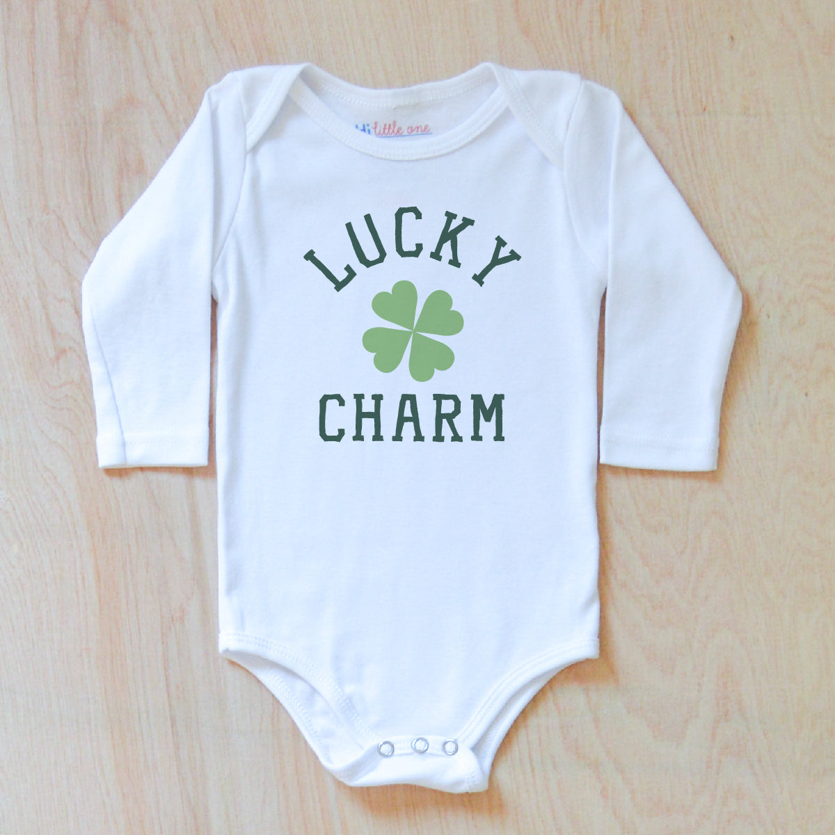 b4261e8f9 Lucky Charm | St. Patrick's Day Onesies | Personalized Onesies – Hi ...
