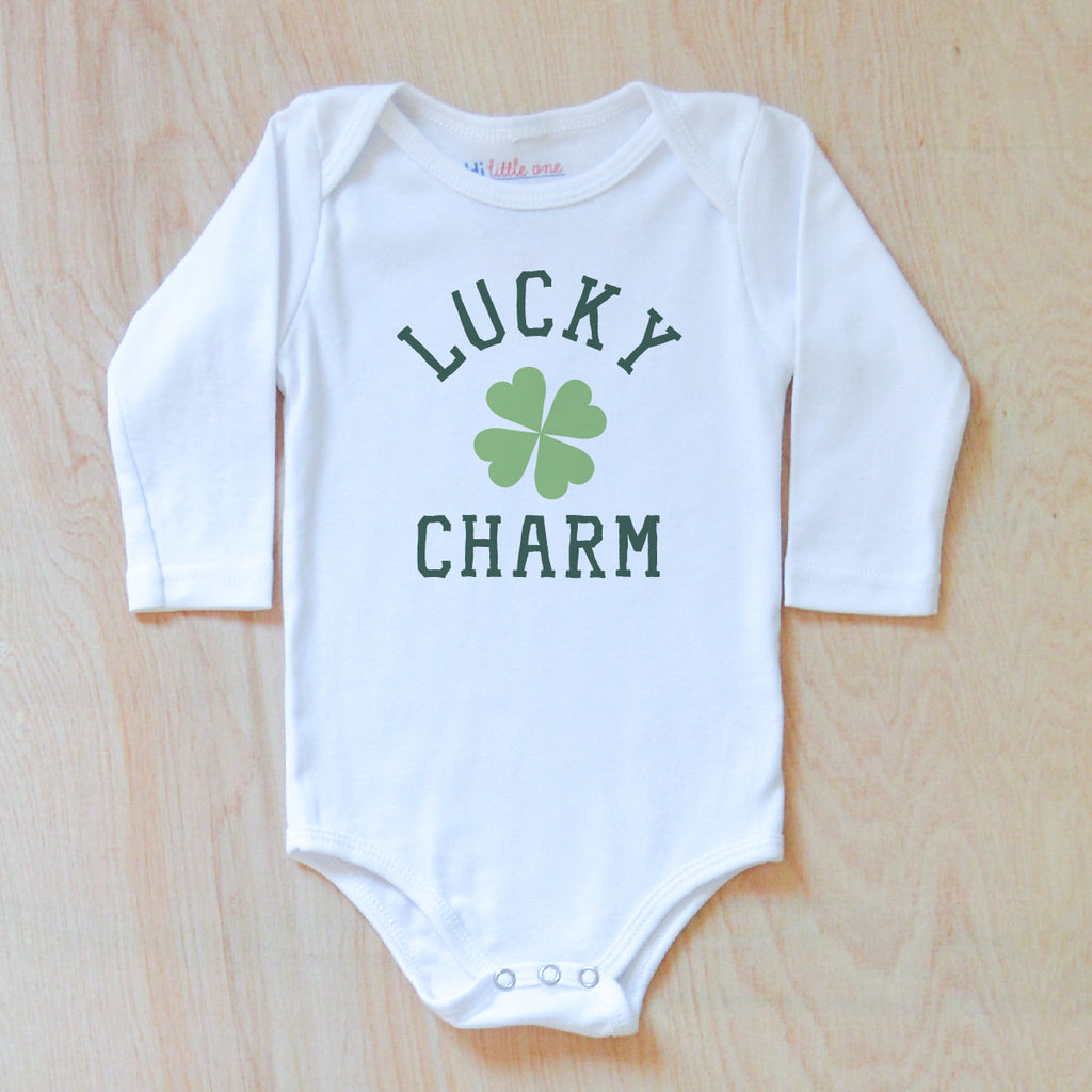 Lucky Charm Onesie at Hi Little One