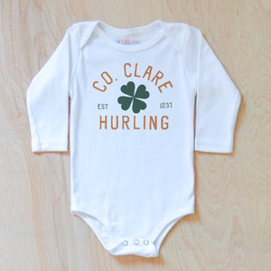 County Clare Hurling Onesie at Hi Little One