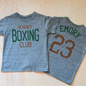 Blarney Boxing Club T-shirt at Hi Little One