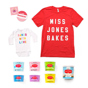 Baby Baker Box with T-Shirt {Miss Jones} at Hi Little One