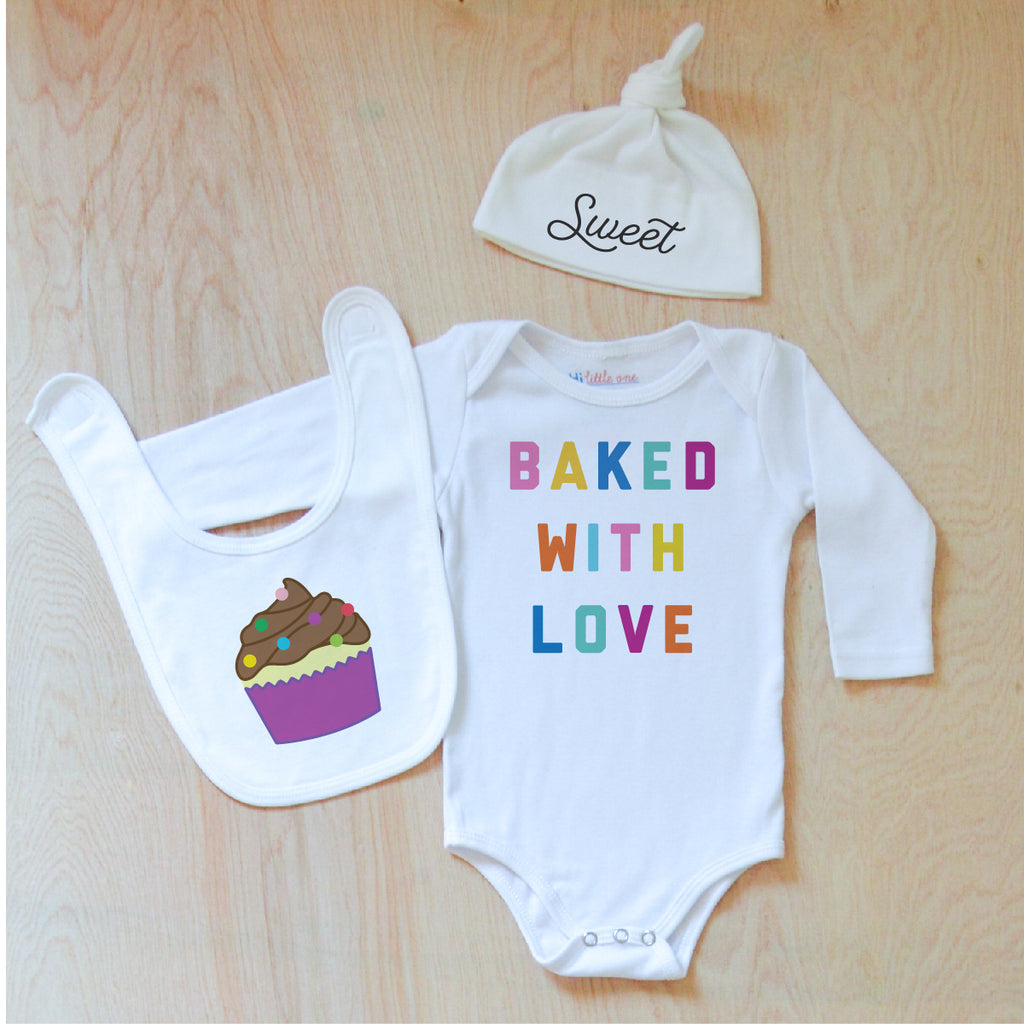 Baked with Love 3 Piece Gift Set