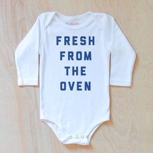 Fresh from the Oven Onesie {Miss Jones} at Hi Little One