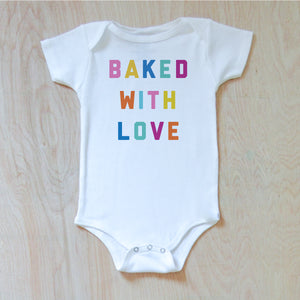 Baked With Love Onesie {Miss Jones} at Hi Little One