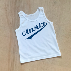 America Kids Tank Top at Hi Little One