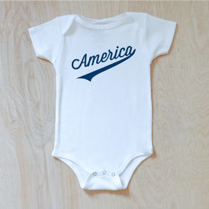 America Baby Onesie at Hi Little One