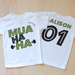 Mua Ha Ha T-Shirt at Hi Little One