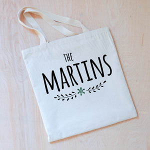Classic Holiday Personalized Tote at Hi Little One