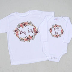 Boho Big Sis/Little Sis Sibling Set at Hi Little One