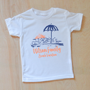 Beach Vacation Personalizable T-Shirt