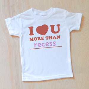 Personalized _ I love you more than... Valentines T-Shirt