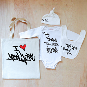 NY Graffiti Inspired Borough Babe 4 Piece Set