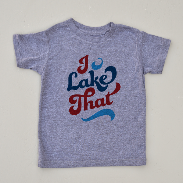 I Lake That Vintage Grey T-shirt at Hi Little One