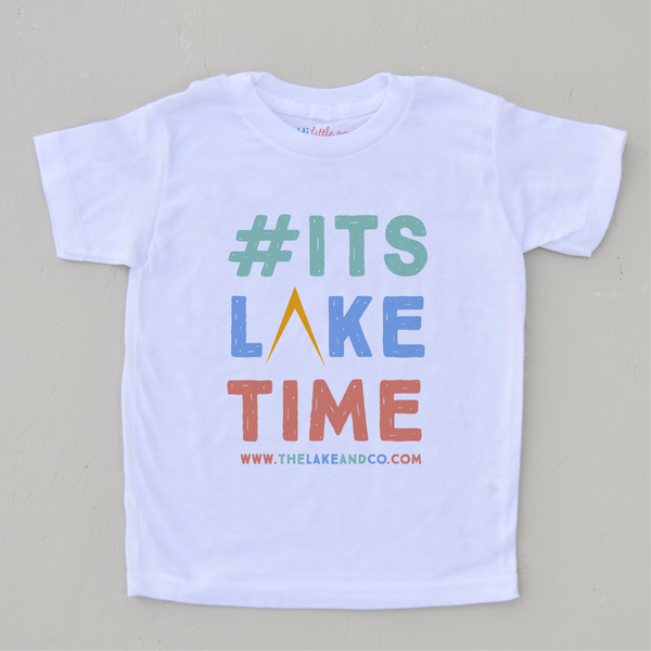 It's Lake Time T-shirt at Hi Little One