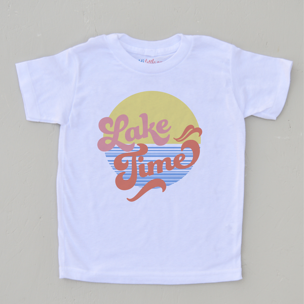 Lake Time T-shirt at Hi Little One