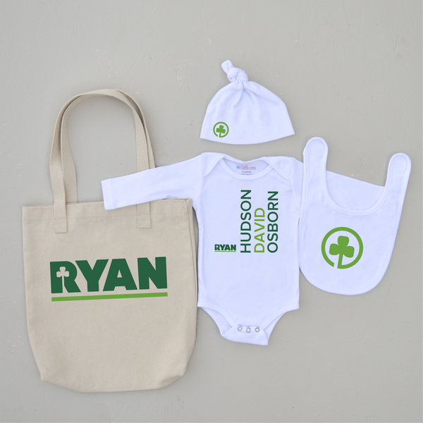 White Label: Ryan Companies 4 Piece Gift Set Simple Style at Hi Little One