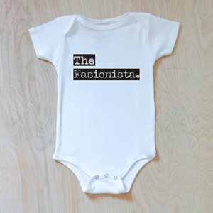 The Sibling Space Personalized Onesie