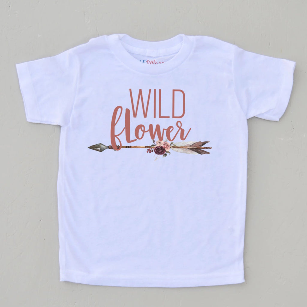 Wild Flower Boho T-Shirt at Hi Little One