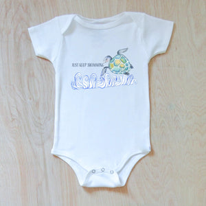 Just Keep Swimming Onesie at Hi Little One