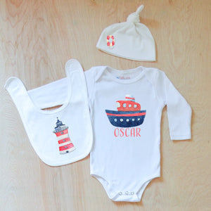 Stylish Sailor 3-Piece Set at Hi Little One