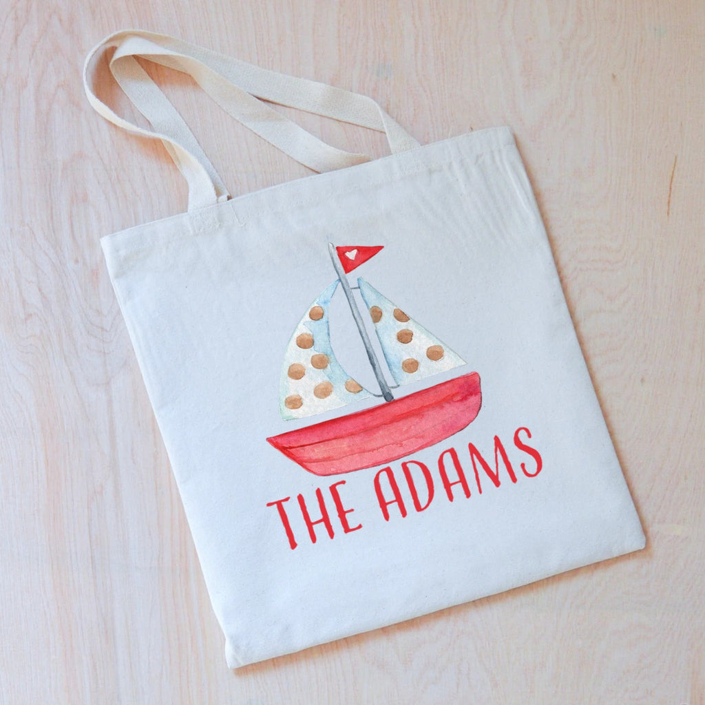 Sail Away Tote at Hi Little One