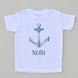 Sail Away Personalized T-Shirt at Hi Little One