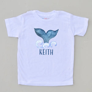 Personalized Fin-Tastic T-Shirt at Hi Little One