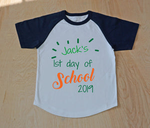 Back to School Raglan at Hi Little One