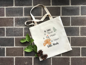 Teacher's Gift Personalized Tote at Hi Little One