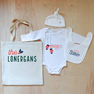 Cozy Up Holiday  4-Piece Gift Set at Hi Little One