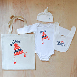 Winter Hat! Cozy Up Holiday  4-Piece Gift Set at Hi Little One
