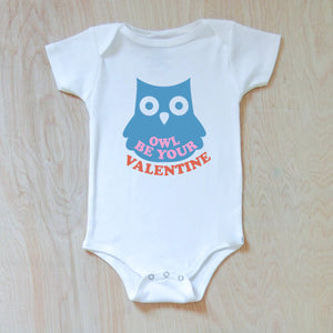 Owl Be Your Valentine Onesie