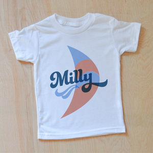 Vintage Summer Breezy Personalized T-shirt