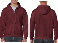 Gildan® Heavy Blend™ Adult Full Zip Hooded Sweatshirt 18600